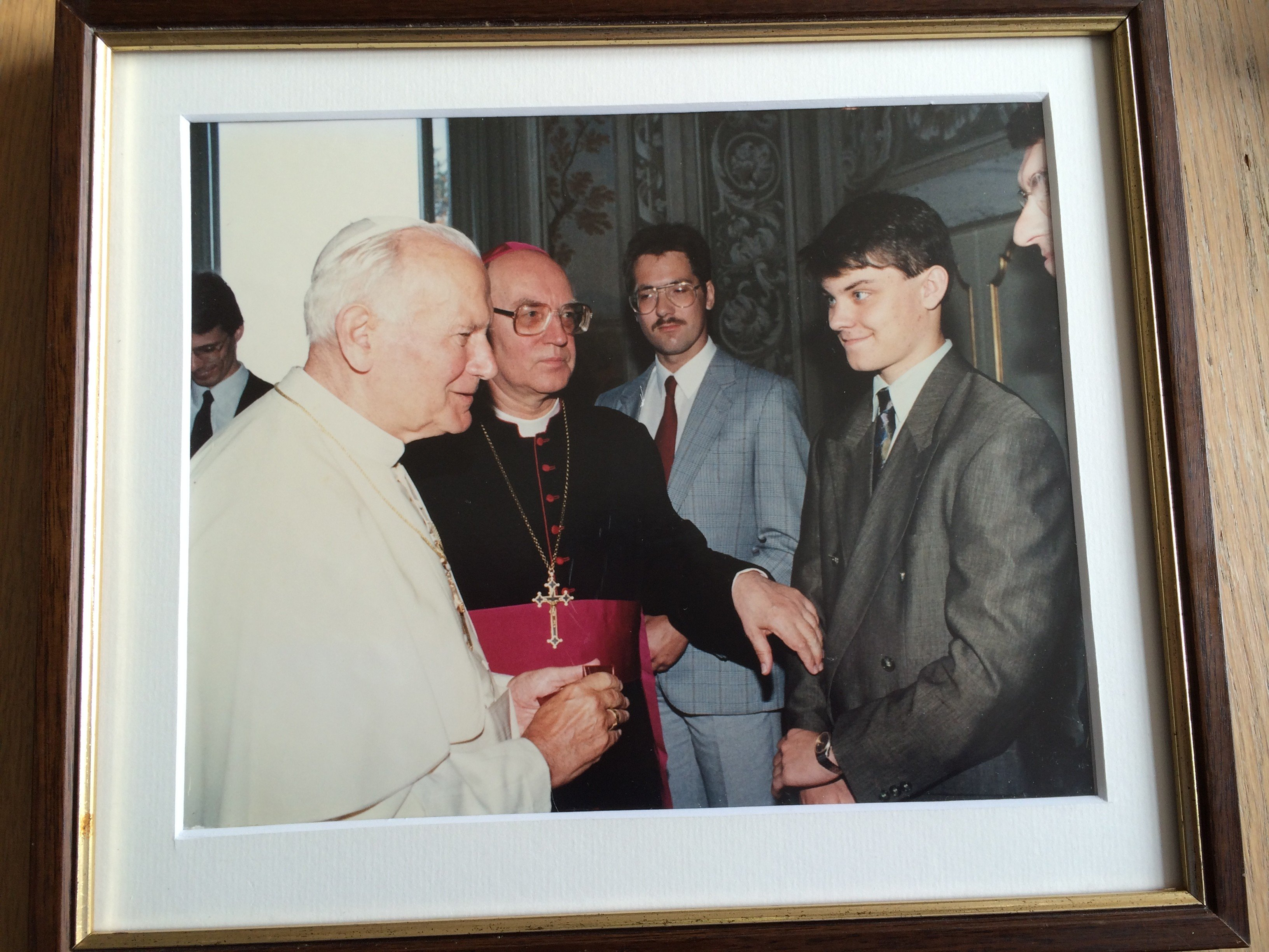Johannes Paulus II – de heilige die ik heb aangeraakt